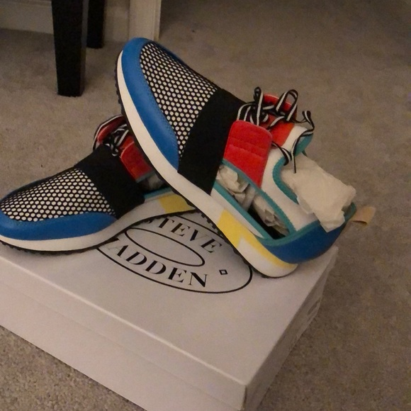 Steve Madden Sneakers Colorful